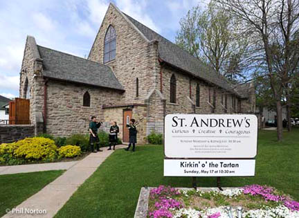 St. Andrew's Presbyterian Church in Picton, Ontario, Canada